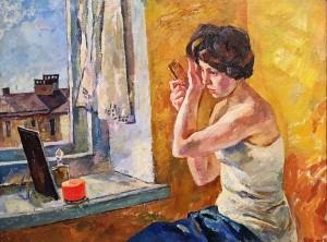 Валерий Ватенин - Утро, 1961 (холст, масло)