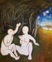 Юрий Гусев — Диалог, 2011 (холст, темпера)