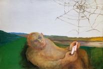 Юрий Гусев — С паутинкой, 2009 (холст, темпера)
